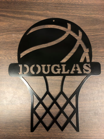 Basketball Recognition plaque - Customized