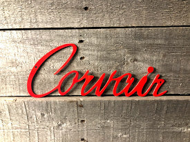 Corvair Shop Wall sign