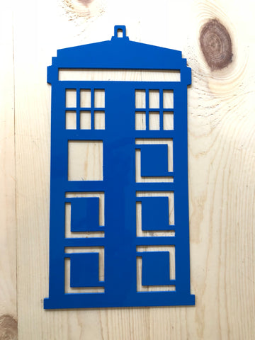 Doctor Who Tardis Metal wall art