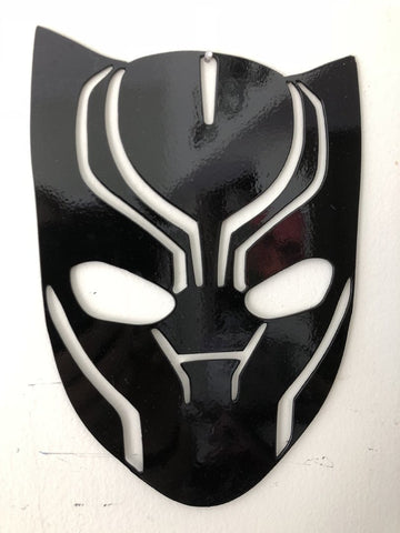 Black Panther metal logo sign/wall art superhero from Marvel Comics