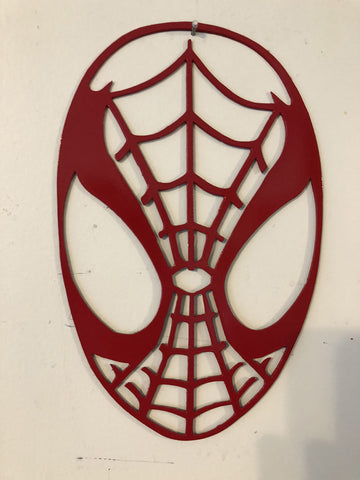 Spider Man metal sign/wall art superhero from DC/Marvel Comics
