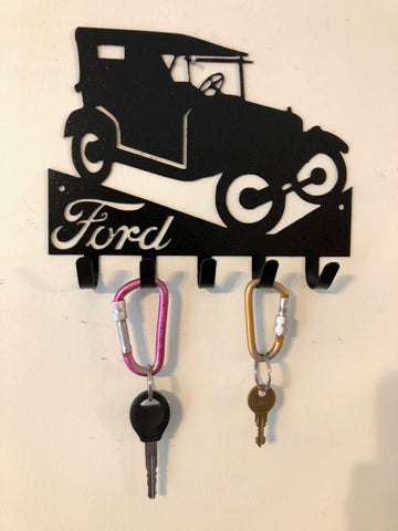 Classic antique Ford 30's key hook