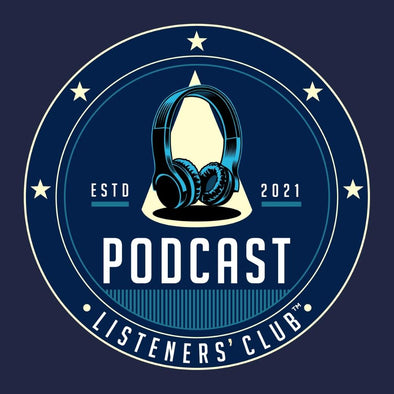 Podcast Listeners' Club Blue Logo - Women's Fitted T-Shirt
