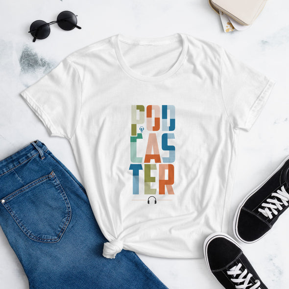 Amplify - Women's Podcaster Fitted T-shirt