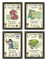 Playing Cards/Quiz: Dragon Drool Deck (Personality Quiz)