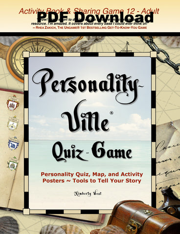 PDF Download of Book ONE: Personality-Ville Quiz-Game Activity