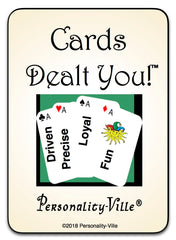 52 Cards Dealt You Deck: Personality Quiz Program & License