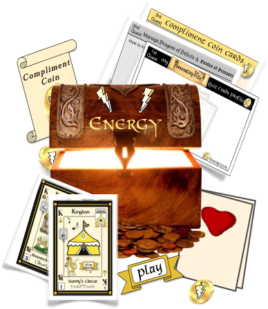 Compliment Cards for Energy Treasure Chest