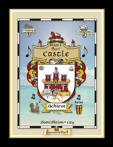 Super-Size Coat-of-Arms Vinyl Banners (Personality-Ville Kingdoms)