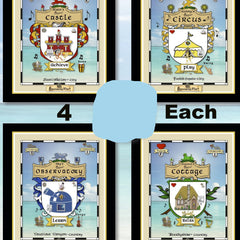 Coat-of-Arms Poster (Personality-Ville Kingdoms)