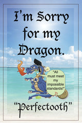 Greeting Card:  Dragons Apologize -- The Best Gift Ever