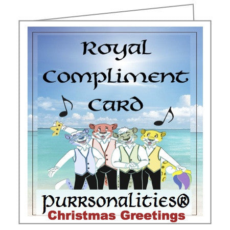 Greeting Card: Royal Christmas/Holiday Card
