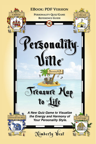 PDF Download Book Two: Personality-Ville Treasure Map to Life! Quiz & Reference 150 Full-color Pages