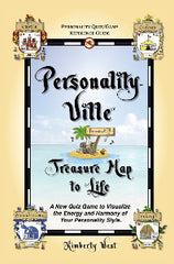 Book TWO (print) -- Personality-Ville Treasure Map to Life! Quiz & Reference 150 pgs (2 Sizes)