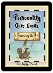 GROUP Personality-Ville's Treasure Map to Life Quiz Mats