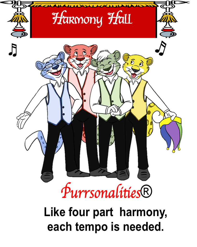 Purrsonalities Posters