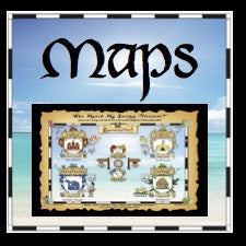 Super-Size Map and Gameboard of Personality-Ville for EVENTS