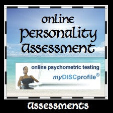 Online Personality Assesment $27-$72 (Standard DISC Test)