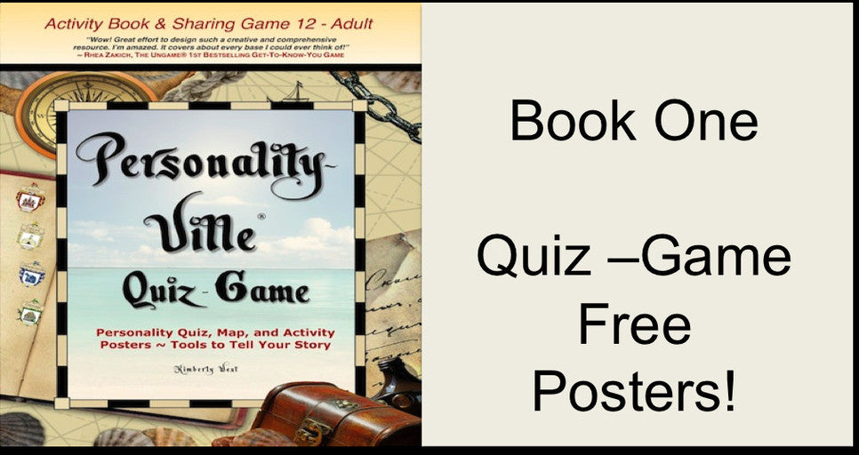 Personality-Ville Quiz-Game Book