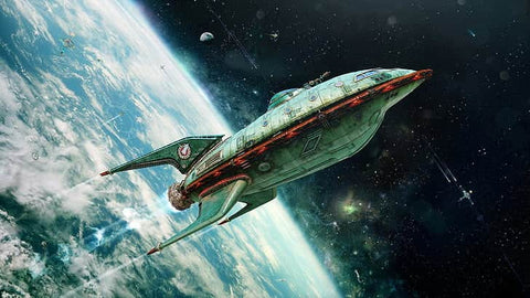 space craft scifi story