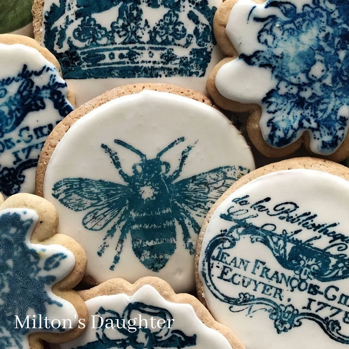 How to Make Royal Icing Cookies and Decorate Using IOD Decor Stamps
