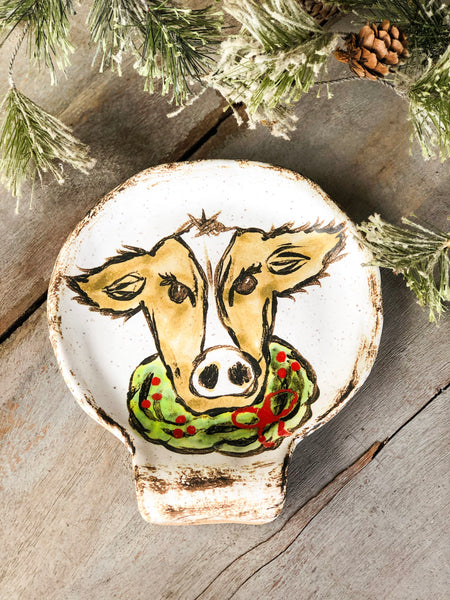 Merry Moo Spoon Rest