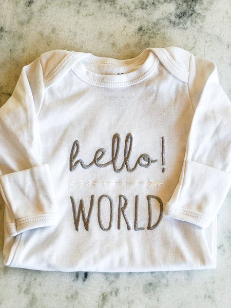 Hello World, Baby Gown
