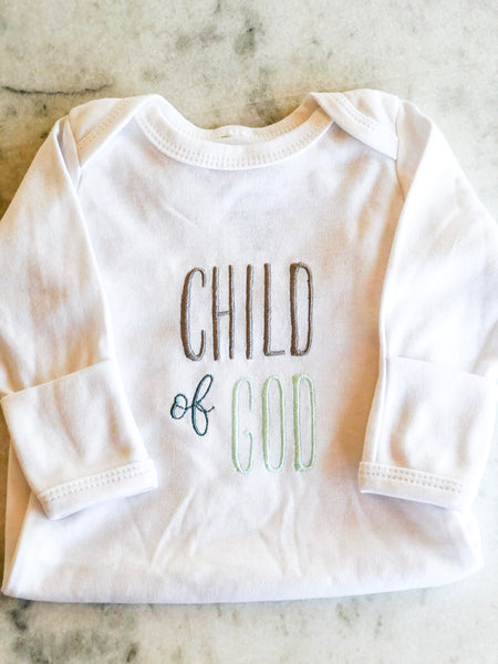 Child Of God, Baby Gown
