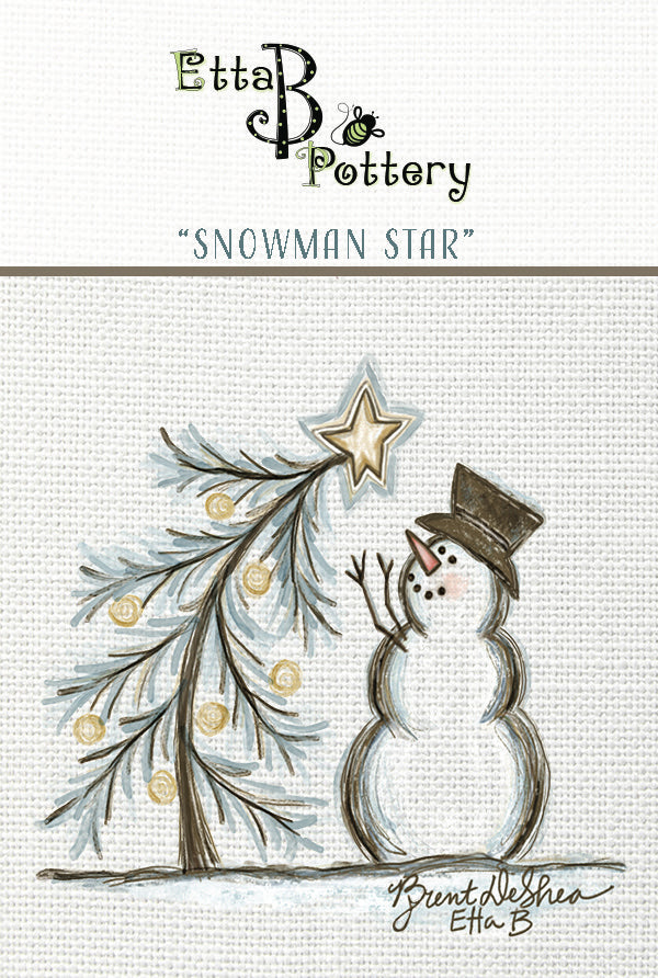 Etta B Pottery Christmas Tea Towels, 8 Styles