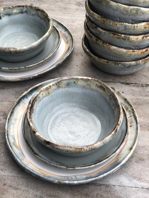 Peaceful Soup & Cereal Bowls- Set of 8