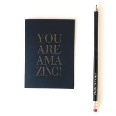 You are Amazing! card