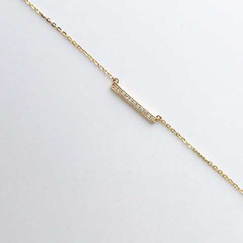 DIAMOND TICK BRACELET