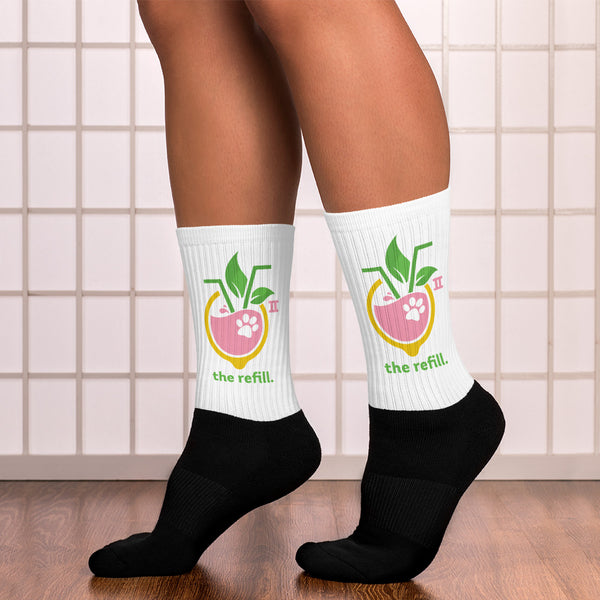 Lemonade Conference Socks