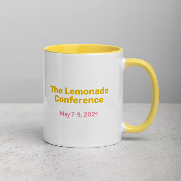 Lemonade Mug with Color Inside