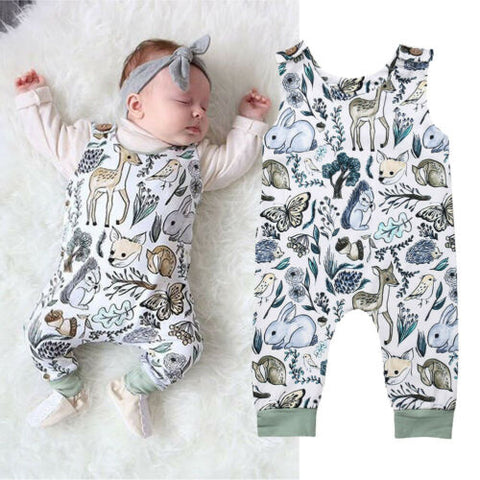 Baby's Overalls Became Popular After World War II