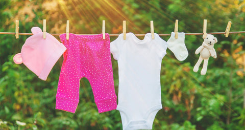 Separating Baby's Clothes In Laundry Is Not Necessary