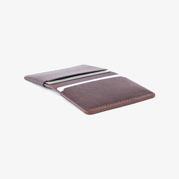 Bi-fold Card Wallet / 2020 - Kangaroo leather wallet by Blackinkk