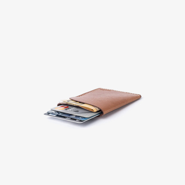 Two Pocket Cardholder / 2020 - Kangaroo leather wallet by Blackinkk