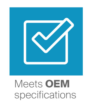 Meets OEM specifications