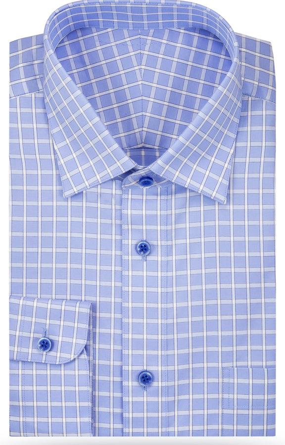 The North Blue Noah dress shirt