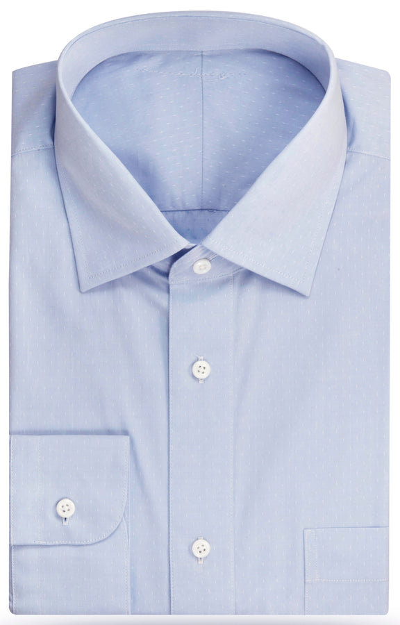 The August tick pattern Dress Shirt