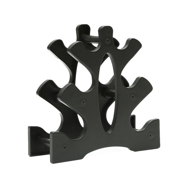 3-Tier Weight Lifting Dumbell Rack Stands