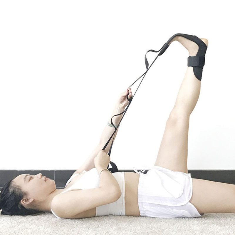 Yoga Flexibility Leg Stretcher Strap