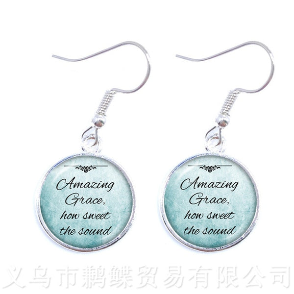 Inspirational Jesus Earrings