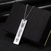 Faith Necklace Inspirational Pendant
