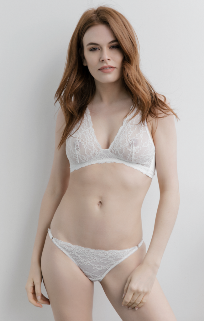 Audrey Bridal Bralet - Fifth Sense