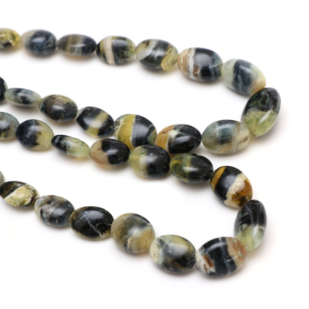 Opal Smooth Tumble Beads | 6x7 mm to 11.5x15 mm | Opal Smooth Tumble | Gem Quality | 8 Inch/18 Inch | Price Per Strand - National Facets, Gemstone Manufacturer, Natural Gemstones, Gemstone Beads