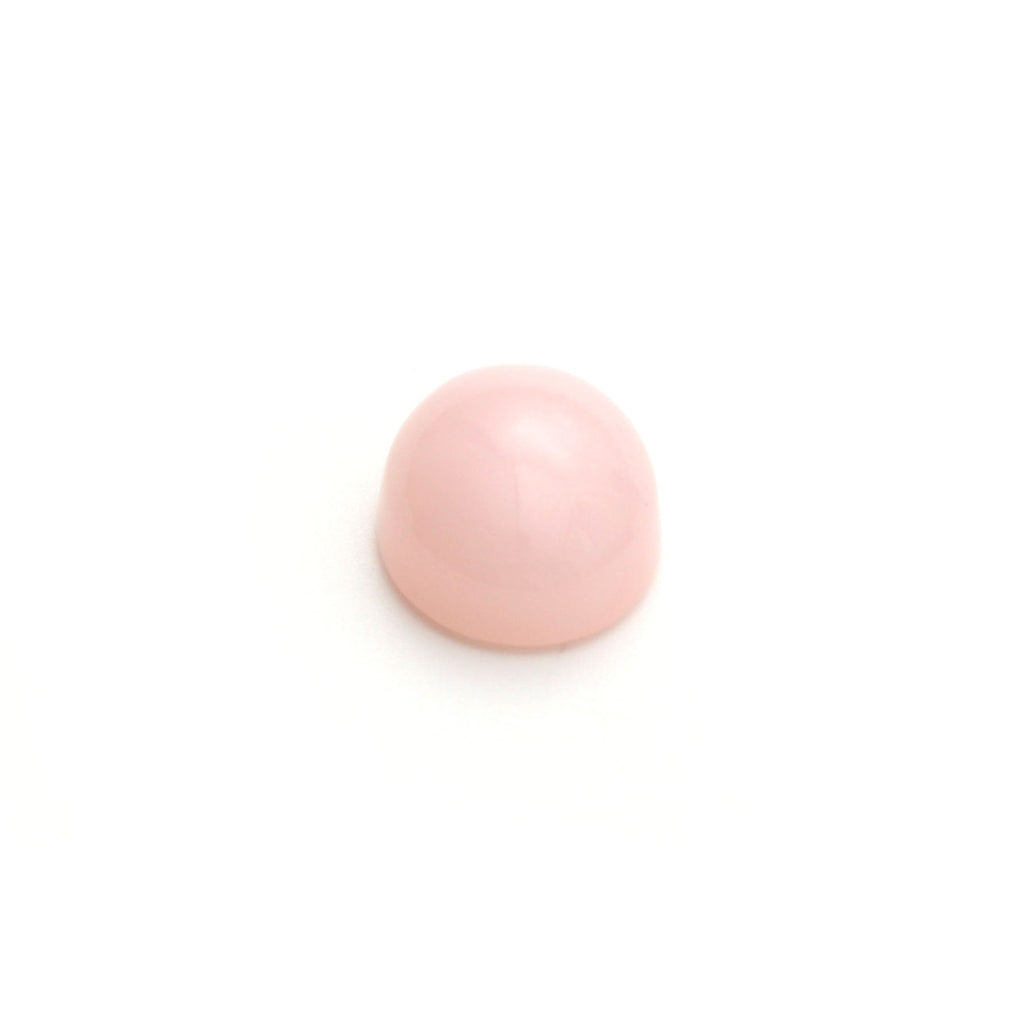 Pink Opal Smooth Oval Loose Gemstone, 3x5 mm to 10x12 mm, Cabochon Gemstone, AA Quality, Set of 10 Pieces - National Facets, Gemstone Manufacturer, Natural Gemstones, Gemstone Beads