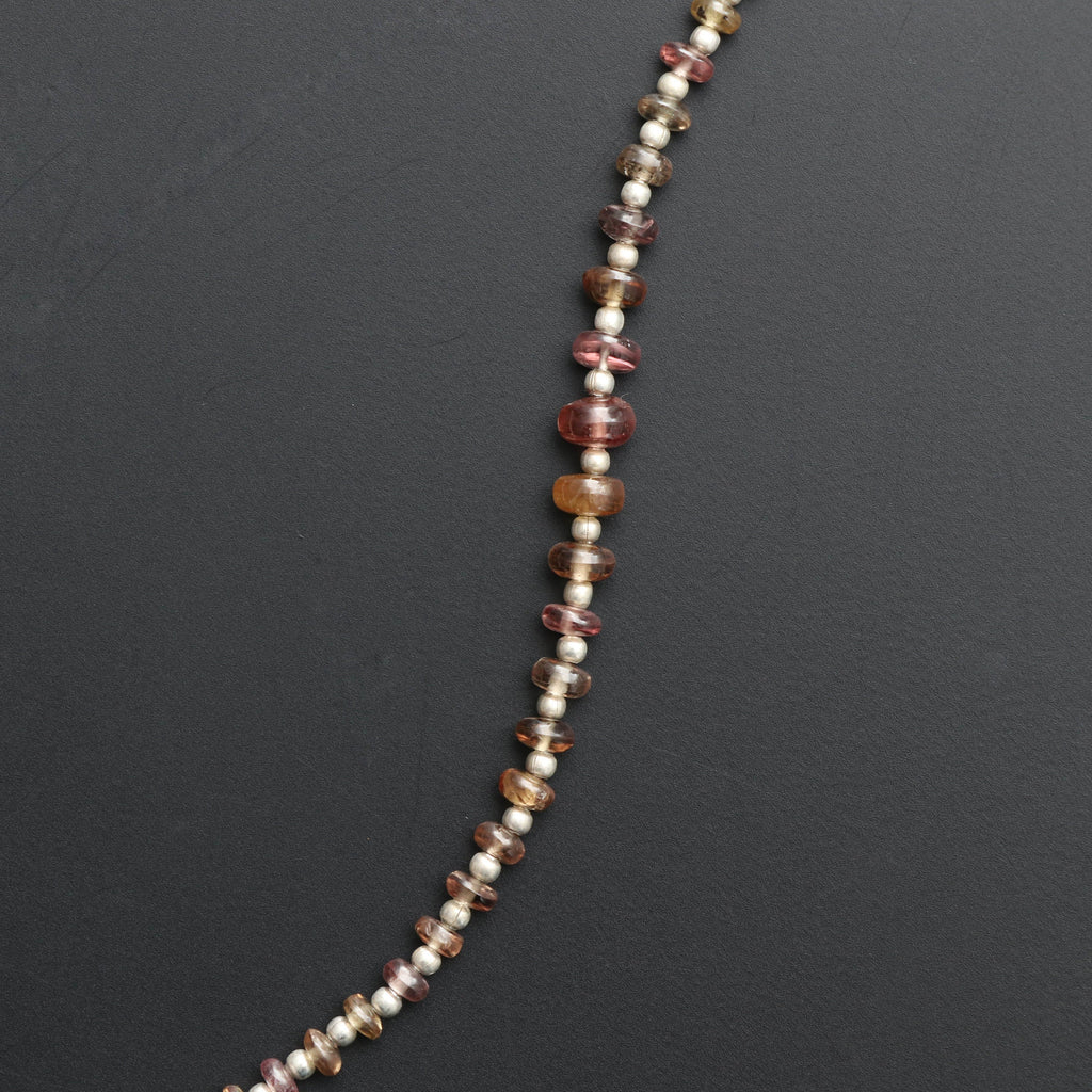 Garnet Change Color Faceted Beads, Rondelle Beads, Color Beads - 3 mm to 6 mm - Change color garnet - Gem Quality, 8 Inch, Price Per Strand - National Facets, Gemstone Manufacturer, Natural Gemstones, Gemstone Beads