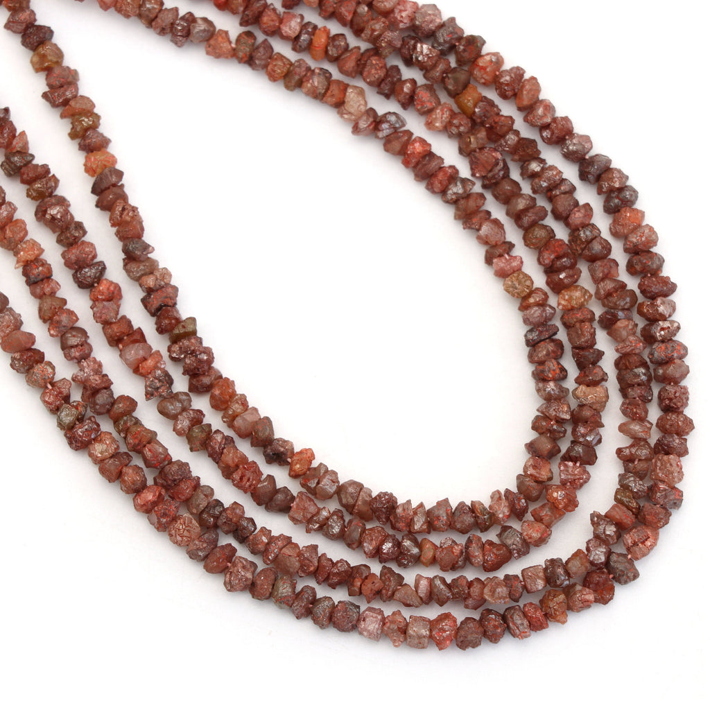 Tan Color Diamond Chips Organic Beads - 2.5mm To 4mm - Organic Chips Diamond, 16 Inch Strands, Price Per Strand - National Facets, Gemstone Manufacturer, Natural Gemstones, Gemstone Beads